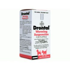 Drontal Worming Suspension for Small Dogs & Puppies - 30ml