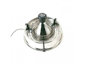 Drinkwell 360 Multi-Pet Stainless Steel Fountain 3