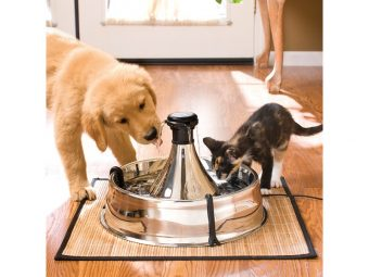 Drinkwell 360 Multi-Pet Stainless Steel Fountain 4