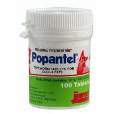 Popantel Tapeworm Tablets