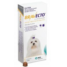 Bravecto Chew For Dogs 2 - 4.5kg