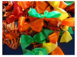Autumn Coloured Bows