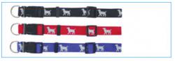 Dog motif collar