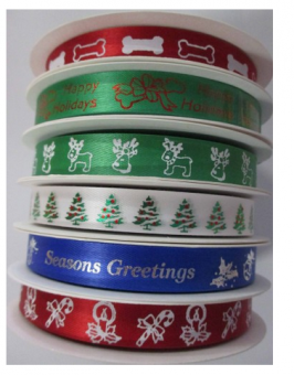 Printed Ribbon – Christmas