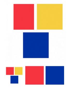 Small Solid Colour Bandanas