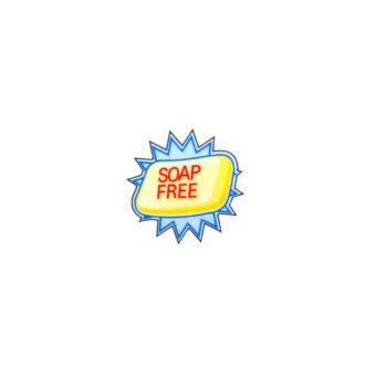 Soap-Free-Sticker