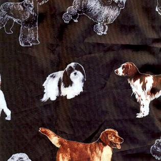 Stylist-Wear-satin-nylon-black-with-dog-breeds