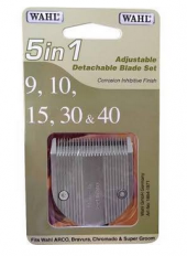 Wahl 5 in 1 adjustable detachable blade set