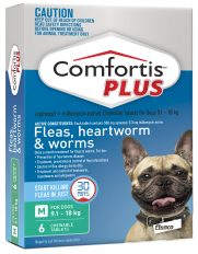 Comfortis Plus Green for Dogs 9.1-18kg (560mg) – 6 Pack
