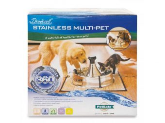 Drinkwell 360 Multi-Pet Stainless Steel Fountain 2