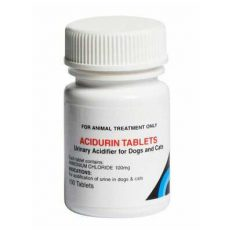 Acidurin tablets for dogs and cats