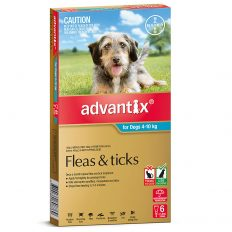 Advantix Red for Large Dogs 10-25kg - 6 Pack