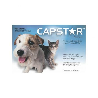 Capstar 11mg for Dogs & Cats up to 11kg