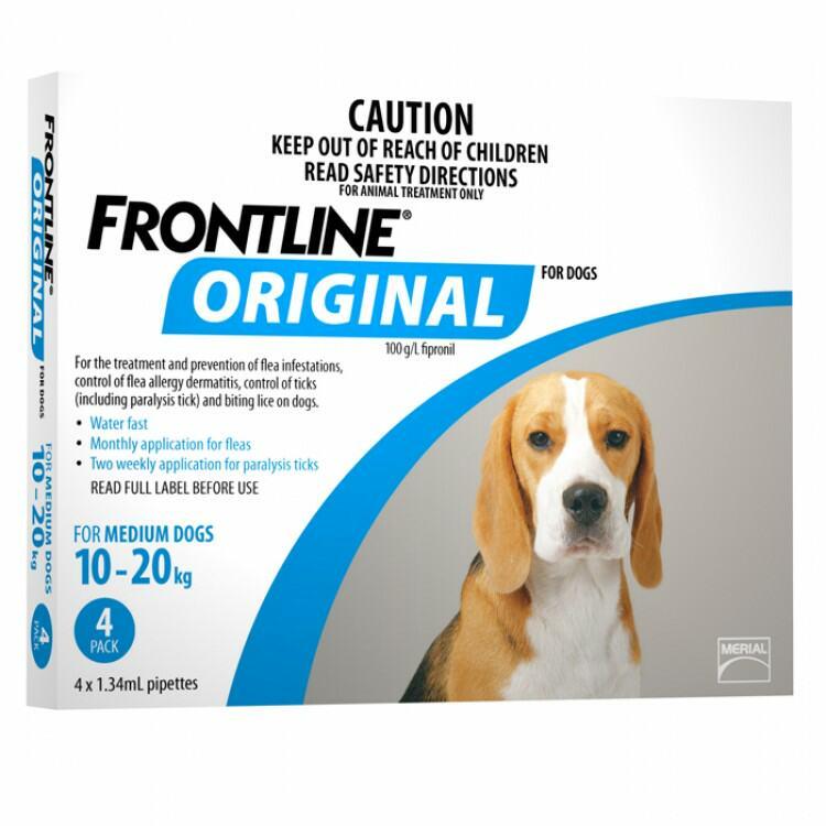 Frontline Original For Dogs Reviews