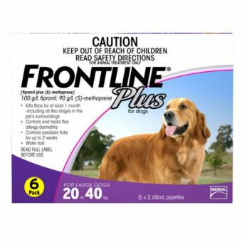 frontline-plus-purple-large-dogs-20-40kg-6pk