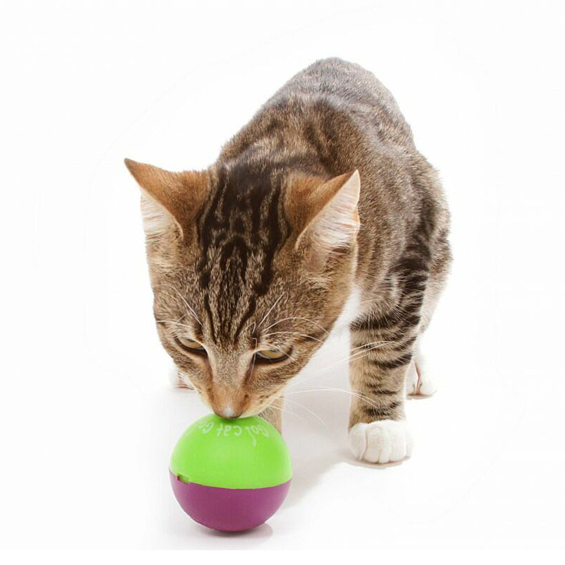 Play n treat treat dispenser catnip ball twin pack vet for Cat toys for when you re not home