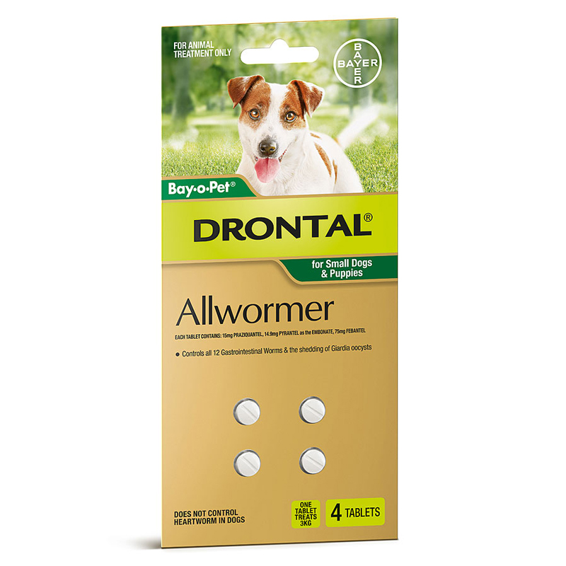Drontal Allwormer For Small Dogs And Puppies