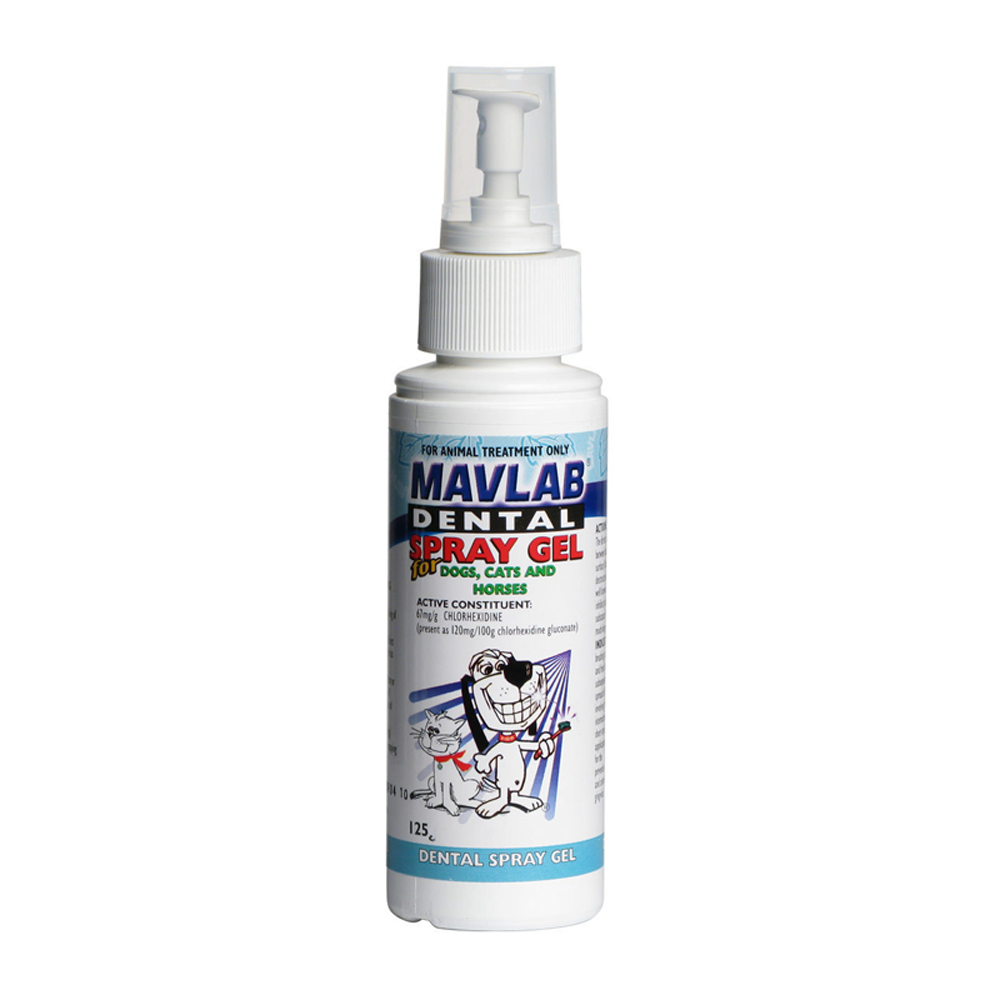 Mavlab Dental Spray Gel 125ml Vet Net Supplies