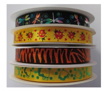 Printed Ribbon – Animals