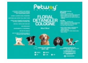 Petway Petcare Floral Detangler Cologne (formerly Woof Woof)