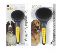 GripSoft Firm Pin Slicker Brush-1
