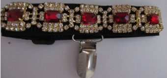 Arm-band-red-stones