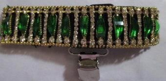 band-green-gold