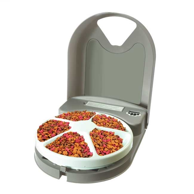 Image of 5-Meal Automatic Pet Feeder