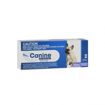 Canine All Wormer 10kg 2 Tablets
