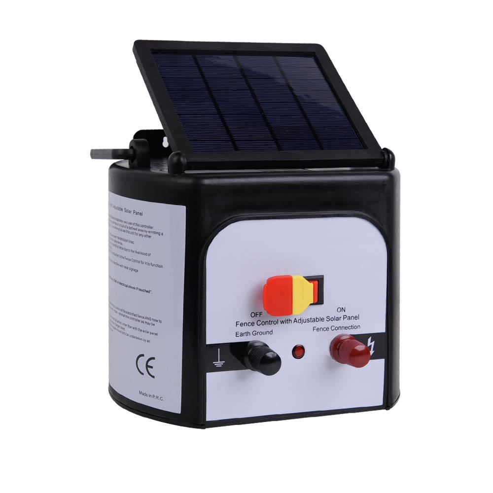 15km Solar Electric Fence Charger Vet Net Supplies